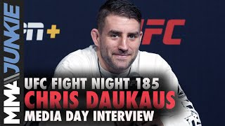 Policeman Chris Daukaus wants to quit job, fight full time | UFC Fight Night 185