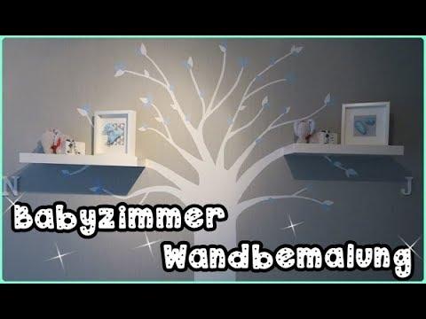 DIY Baum Wandbild/Babyzimmer/Wandbemalung/Mel´s Kanal
