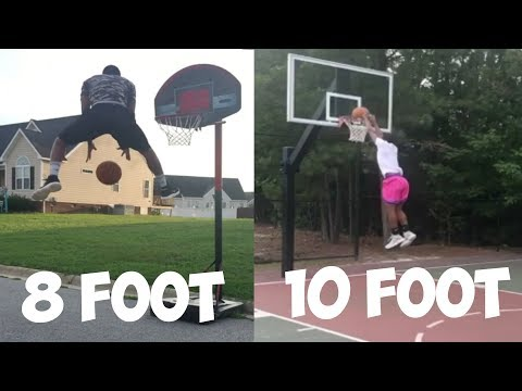 Process To Finally Making The Bounce Dunk