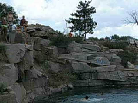 Cliff diving wisconsin