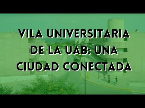 Vila Universitaria de la UAB: una ciudad conectada