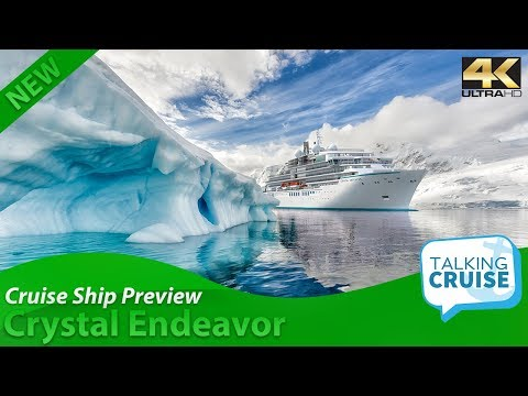 Crystal Endeavor - Luxury Expedition Yacht Reveal