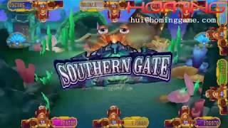 Fishing Game 2018 Newest Fishing Table Game Machine 3D Wu Kong 2 IN 1 Jackpot Fishing Arcade Game