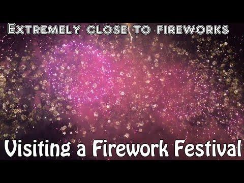 Exploring Japan: Firework Festival (Osaka Hanabi Masturi)
