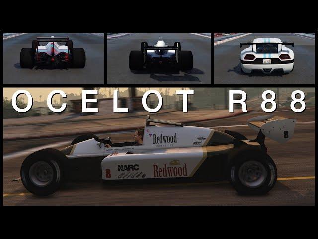 Ocelot R88 - Customisation, performance et gameplay - GTA Online (voiture de F1)