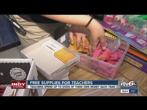 Teachers' Treasures offers free supplies for teachers