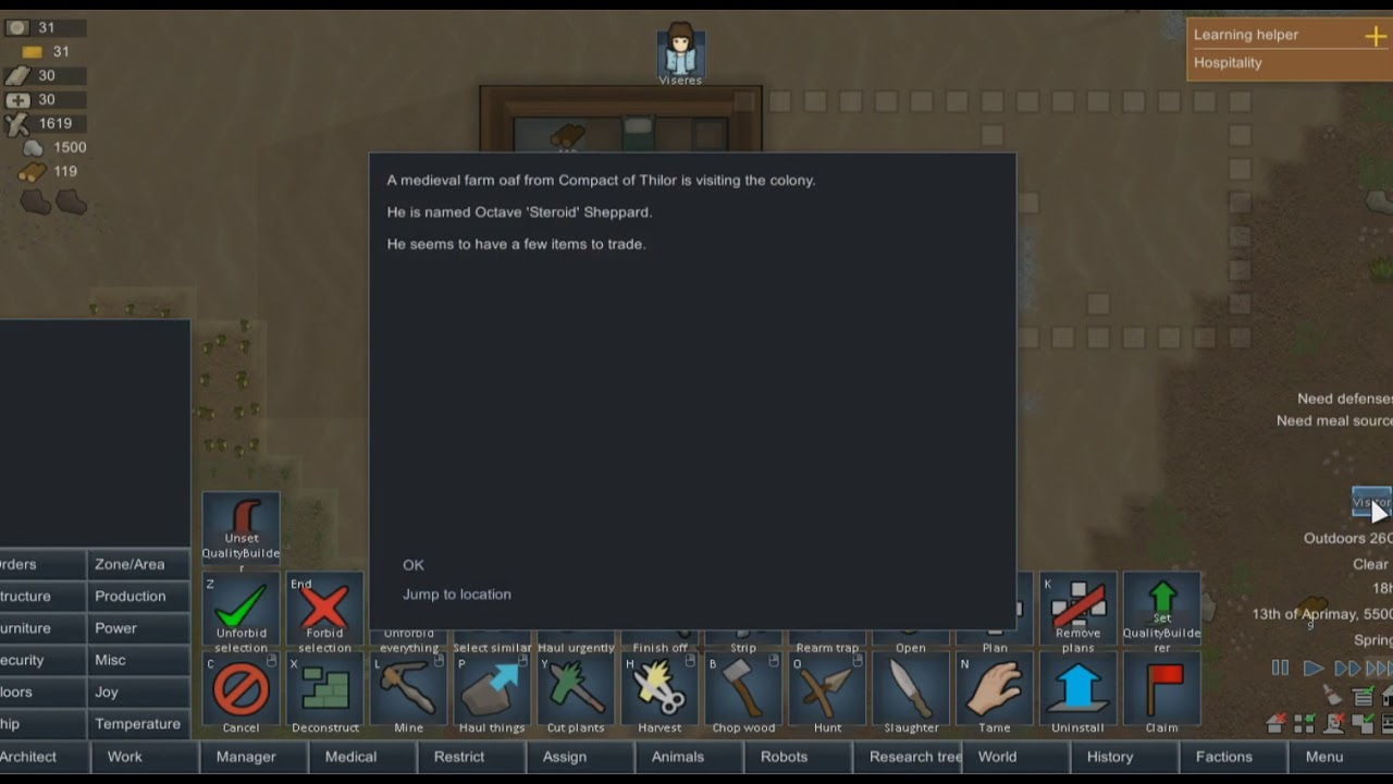 Rimworld Pc Game Review Beta 18 Worth It Youtube