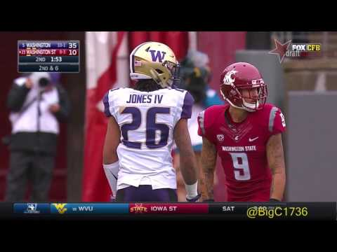 Sidney Jones vs Washington State 2016