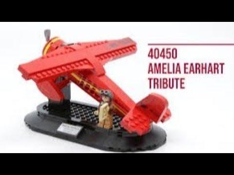 Lego Speedbuild - Amelia Erhart (40450)