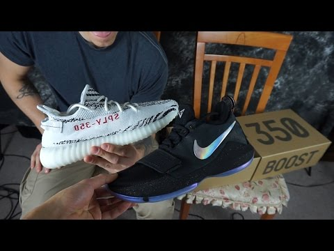 The Sole Brothers VLOG #40 PG 1 & YEEZY ZEBRA!