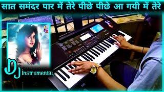 Saat Samunder Paar Instrumental | Vishwatma | Sunny | Dj Remix | Casio Ctx 700 | by pradeep kumar pk