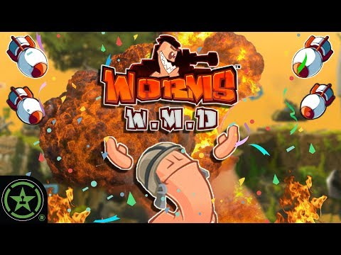 THE HELICOPTER TRICK - Worms W.M.D. | Let's Play
