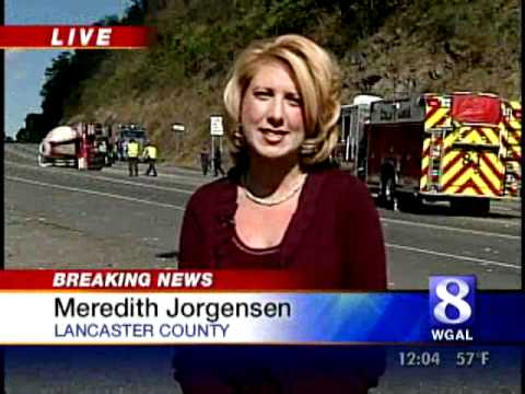 Watch Live Report From Crash Scene