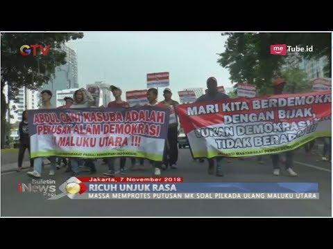 Ricuh Unjuk Rasa Protes Putusan MK Terkait Pilkada Ulang Maluku Utara - BIP 08/11
