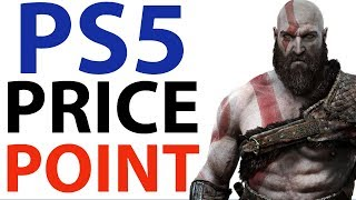 PS5 Price Point | Sony TALKS Price For Next Generation Consoles | NEW PS5 Specs and News