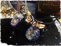 (レジン)キラキラ卵型ネックレス~夜のメリーゴーランドと最新型UVレジン液❁新しいハ…