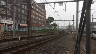 JR東日本 E235系 トウ01編成 9253G 『池袋鉄道まつり2017 団体列車』 西日暮里駅通過