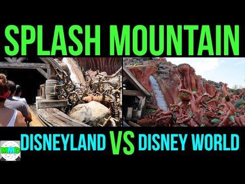 Splash Mountain - Disneyland Vs Disney World - Full Ride POV 2018