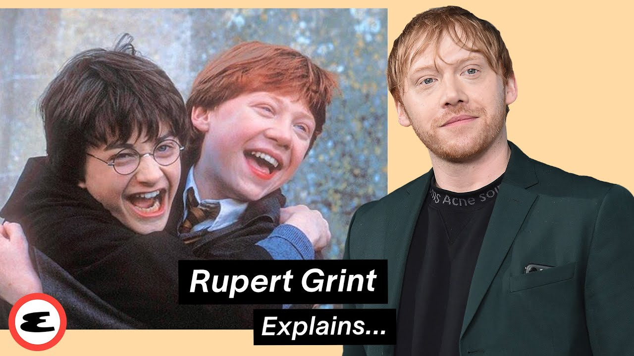 Download Rupert Grint Reacts to Himself in Harry Potter | Explain This | Esquire