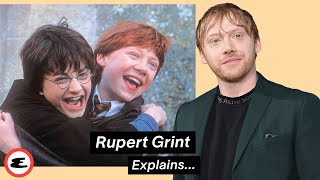 Rupert Grint Reacts To Himself In Harry Potter | Explain This | Esquire