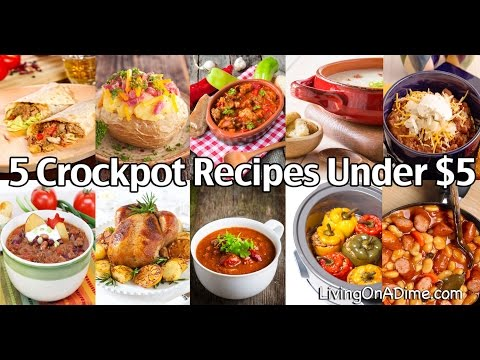 5 Crockpot Recipes Under $5
