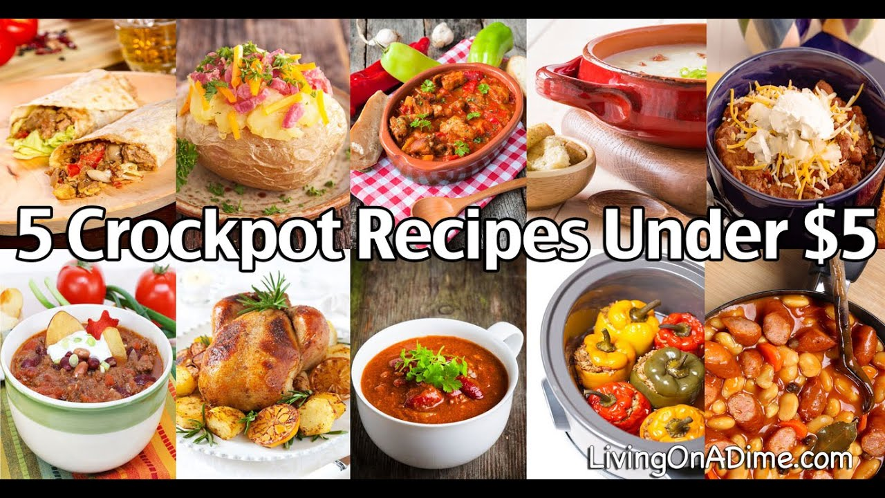10 Crockpot Recipes Under $5 – Easy Meals Your Family Will