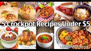 5 Crockpot Recipes Under $5