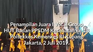 Penampilan Vocal Group Poltekkes Kupang Juara I
