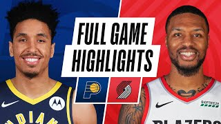 PACERS at TRAIL BLAZERS | FULL GAME HIGHLIGHTS | January 14, 2021