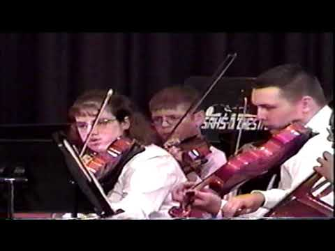 Sam Rayburn High School Orchestra Concert 1998