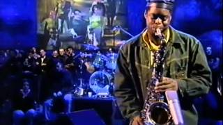 Courtney Pine and Jools Holland play