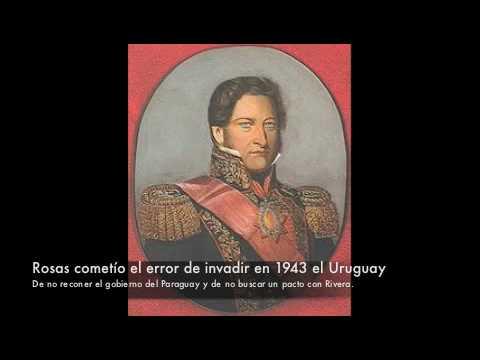 Artigas y la Guerra Grande. Bentos Gonçalves, Rivera y Rosas