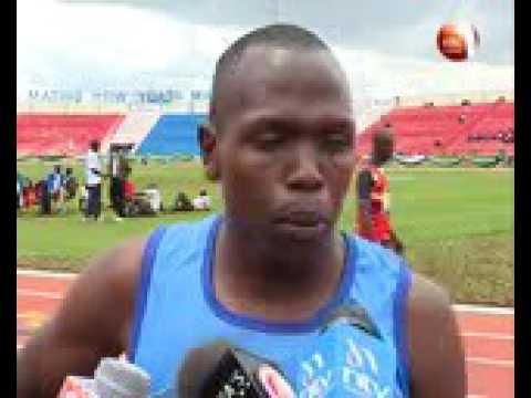 Kibor emerges winner of 3000m steeplechase in KDF athletics