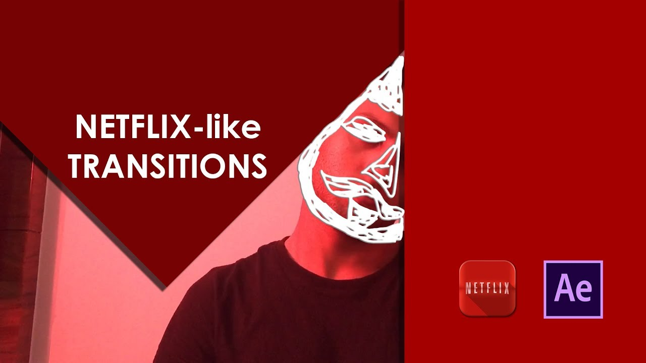Netflix-like Transitions   Motion Graphics   After Effects Tutorial  