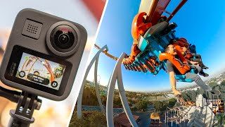 GoPro Max Review | 360 Camera on a Rollercoaster