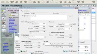 MaxxTraxx Auto Shop Software Lessons - Parts Price Matrix Video Review