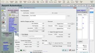 MaxxTraxx Auto Shop Software Lessons - Parts Price Matrix Video Review