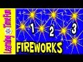 Count Fireworks for Kids | July 4th | Counting for Kids | 1 to 10 | Kid's Holiday | Kid's Counting