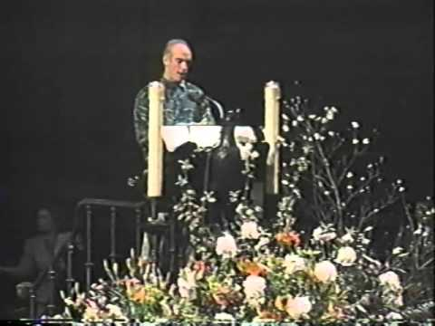 05 Welcome and Letters From Children - Richard Hunt (Jim Henson's Memorial Service)