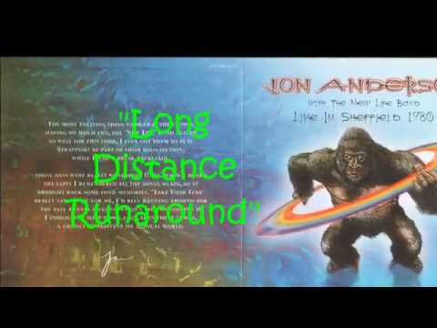 """Jon Anderson """"Long Distance Runaround"""" Live Sheffield ' 80 with  The New Life Band-"""