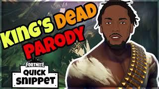 King's Dead Fortnite Parody - Jay Rock ft Future, Kendrick Lamar, James Blake (Snippet)
