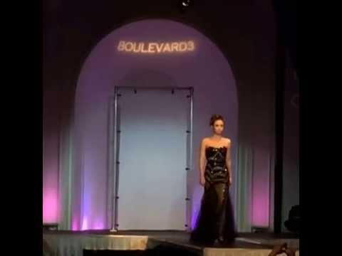 LA Fashion Week Closing Night - Black Dress