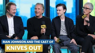 Rian Johnson & Knives Out Cast Talk On-Camera Slap Fights & Intense Family Dynamics | FULL INTERVIEW