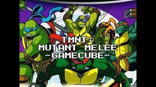 Review 627 - TMNT: Mutant Melee (Gamecube)