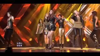 Sunny Hill ft Chun Ji (TEEN TOP) - The Grasshopper Song live (Feb 26, 2012)