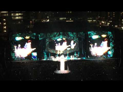 The Rolling Stones Zip Code Tour at San Diego Petco Park May 24, 2015 Part 1