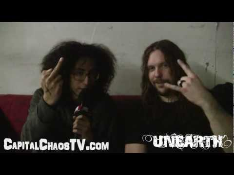 UNEARTH (interview) 01/20/13 in Oakland on...