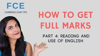 How to do Key Word Transformation questions (FCE Reading and Use of English)