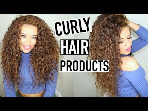 My Favorite Curly Hair Products