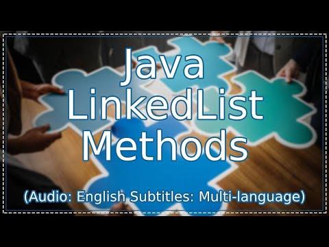 java-linkedlist-methods-|-java-collections-tutorial-(java-tutorial)